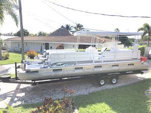 28 ft Harris Pontoon Boat, 2018 Mercury GT 4-stroke 115 HP outboard for Sale in Oakland Park, FL
