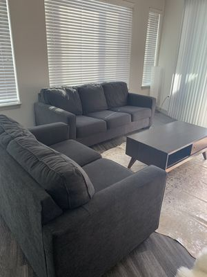 2 piece sofa set - update - coffee table sold, price updates for Sale in Denver, CO