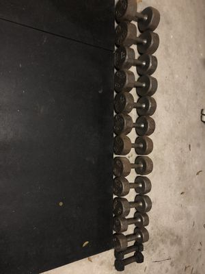 Dumbbell weights for Sale in Dickinson, TX