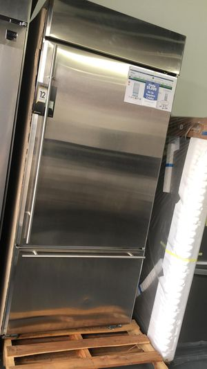 "New Bottom Freezer 36"" GE Monogram in Stainless Steel - Water Filter, Ice maker 🔥 39$ Down for Sale in Houston, TX"