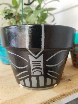 Dark Vader Flower Pot for Sale in Longwood, FL