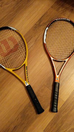 Pair of Wilson tennis rackets for Sale in Alexandria, VA