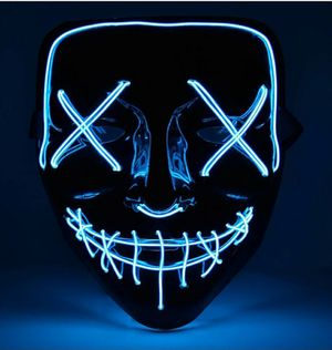 Halloween Led Purge Mask Blue for Sale in Fontana, CA