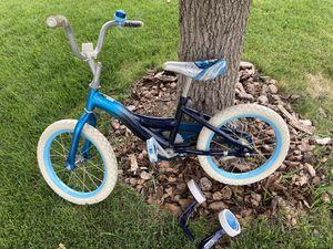 "FREE - 16"" girls bike with training wheels for Sale in Castle Rock, CO"