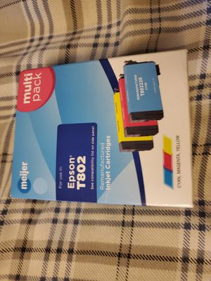 Epson t802 multi pack for Sale in Carleton, MI