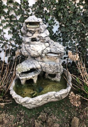 Concrete outside water fountain for Sale in Hilliard, OH