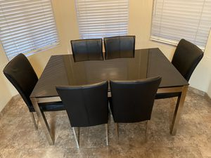 7 piece dinning room table set for Sale in Glendale, AZ