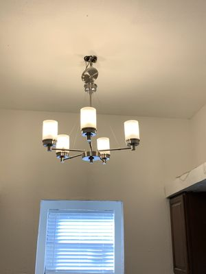 Brushed Nickel Dining & Kitchen Light Fixtures for Sale in Arlington, TX