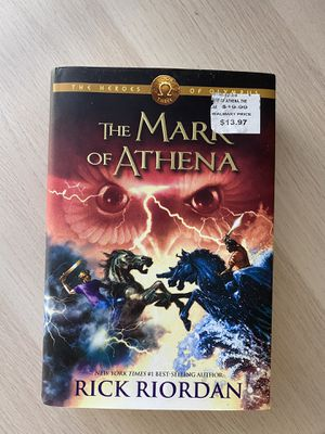 The Mark of Athena (Heroes of Olympus, Book 3) - HARDCOVER for Sale in Cary, NC