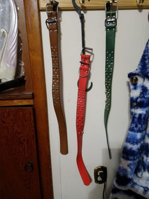 Leather Spiked Dog Collars for Sale in South Zanesville, OH