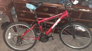 Black and Read Mongoose stand off bike for Sale in Salina, KS