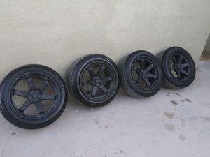 ROTA GRID WHEELS&TIRES 18X9.5 5X114.3 for Sale in Lake View Terrace, CA