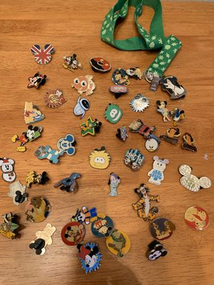 Disney pins. Selling as lot only for Sale in Wesley Chapel, FL