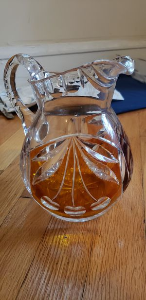 Vintage Glass Pitcher Pick Up Northside for Sale in Chicago, IL