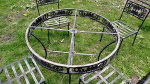 Patio furniture wrought iron for Sale in Oak Lawn, IL