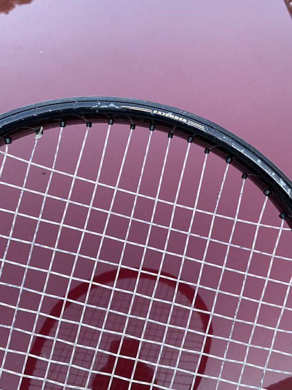Prince extender thunder 880pl tennis racket large grip