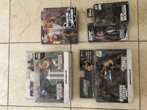 Round 5 MMA Rampage Jackson Action Figures Set of 4 for Sale in Fort Dix, NJ