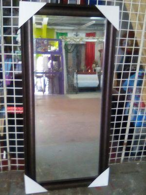 Sale mirror color espresso hanging floor 66x32 for Sale in Los Angeles, CA
