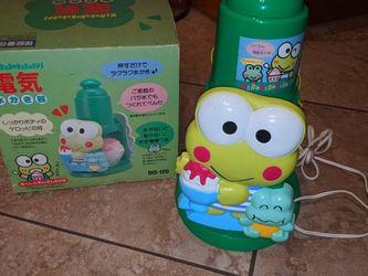Rare Vintage Sanrio Keroppi Frog Cute Slushy Maker WORKS ! for Sale in Hacienda Heights,  CA