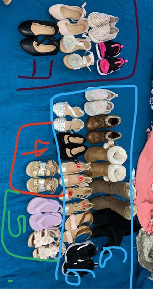 Baby girl clothes and shoes for Sale in Aurora, CO