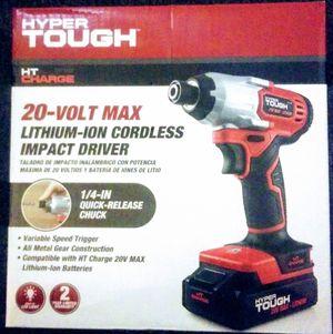 Hyper Tough 20V Cordless Impact Driver for Sale in Dallas, GA