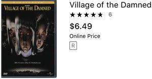 Village of the damned horror movie dvd dvds movie for Sale in Glendale, AZ