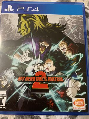 My hero academia ones justice 2 for Sale in Annandale, VA