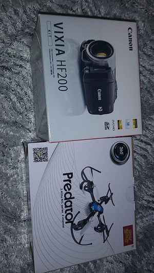Drone & Canon Camcorder for Sale in Huntington Park, CA
