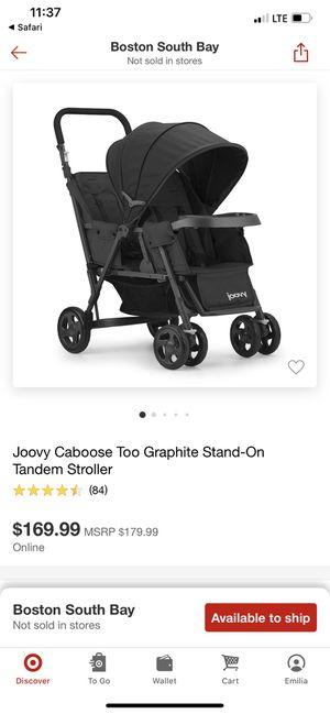 Joovy double stroller for Sale in Boston, MA