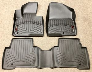 New For 13-18 Hyundai Santa Fe Floor Liner Rubber Mat Pad Kit WeatherTech Black for Sale in Pico Rivera, CA
