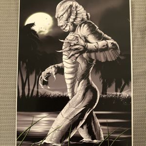 Creature From The Black Lagoon Art Print for Sale in Largo, FL
