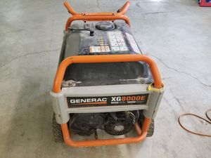 GENERAC 8000E Generator for Sale in Galloway, OH