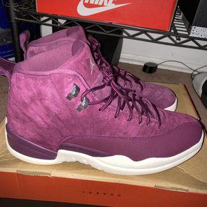 "Jordan 12 Retro ""Bordeaux"" Men Size: 12 for Sale in Evesham Township, NJ"