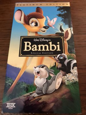 Walt Disney's Bambi Special Edition VHS for Sale in Nottingham, MD