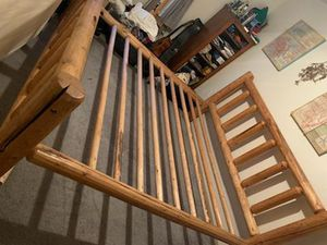 King size bed frame- already taken apart except head and foot for Sale in Gresham, OR