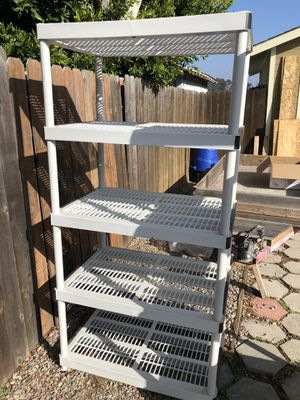 Heavy Duty Plastic Storage Shelves for Sale in San Diego, CA