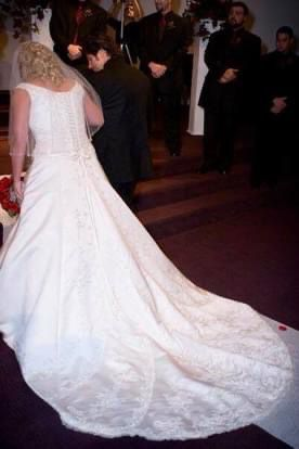 A-Line Wedding Dress - Size 18 for Sale in Seattle, WA