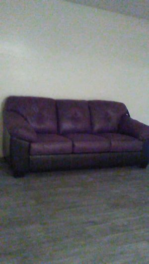Brown and black sofa for Sale in Phoenix, AZ