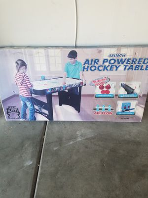 New- Air Powered Hockey Table! for Sale in Albuquerque, NM