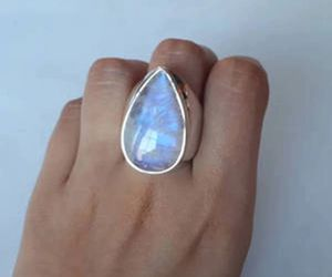 New moonstone sterling silver 925 ring size 7 for Sale in Palatine, IL