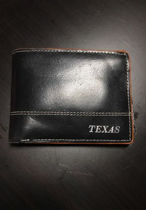 Leather Texas wallet for Sale in Austin, TX