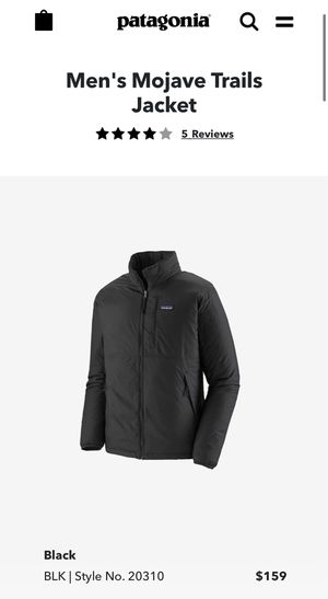 Brand New Patagonia Mojave Trails Jacket Size XL for Sale in Torrance, CA