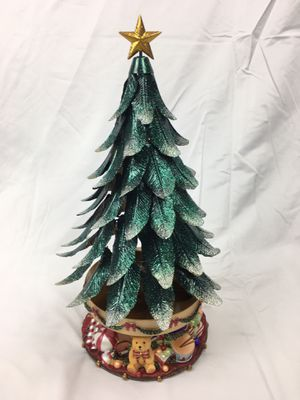 Partylite Christmas Tree Music Box Candle Holder for Sale in Thornton, CO