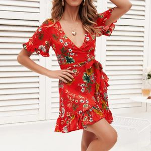 Valentine's sale Ladies Casual Elegant Party Mini Dresses Sexy V Neck for Sale in Salem, OR