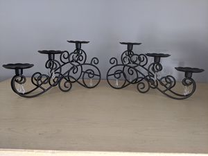 PartyLite Wrought Iron Candle Holders / Candelabras for Sale in Palm Harbor, FL