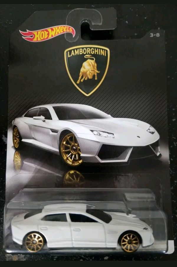Hot Wheels 2017 Lamborghini Bundle of 8 Die-Cast Vehicles 1:64 Scale