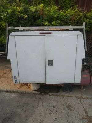 Utility Cargo bed camper and tool rack for Sale in Visalia, CA