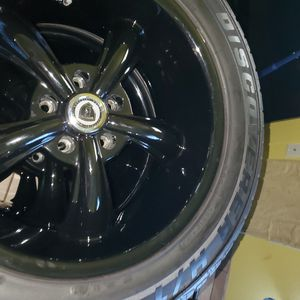 255/55R18 Range rover hse rims mint condition tires.are cooper and rims are borghini rims will fit Camaro but will only sell together for Sale in Dallas, TX