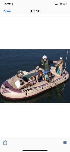 Inflatable Boat 🚣 6 person 90 Dollars // New // for Sale in Compton, CA