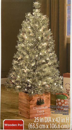 Prelit indoor/outdoor 3.5' tree for Sale in Columbia, MO